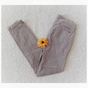 Tory Burch Corduroy Billet Skinny Legging Pants